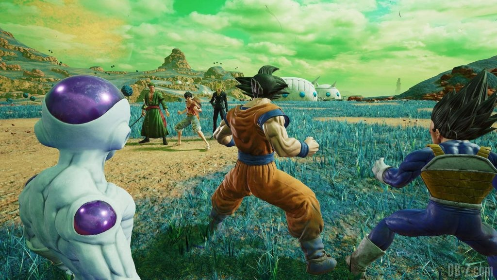 Jump Force - Goku, Freezer, Vegeta