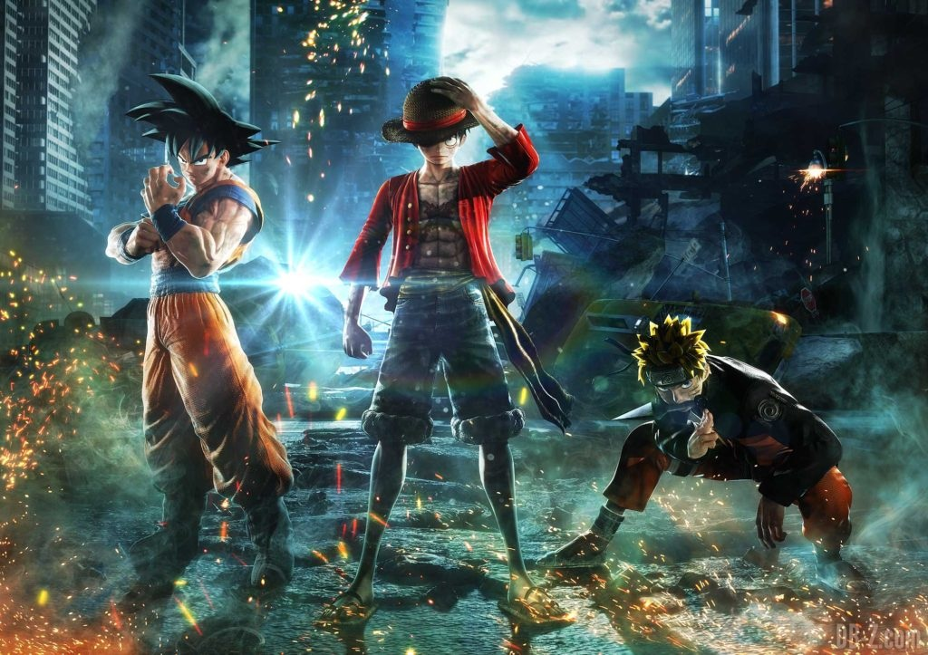 Jump Force - Goku / Luffy / Naruto