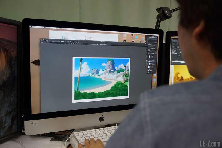Lieu de vacance de Bulma - Film Dragon Ball Super Broly