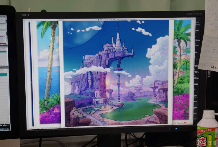 Palais du Roi Vegeta - Film Dragon Ball Super Broly