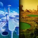 Planète Vegeta et Planète Vampa