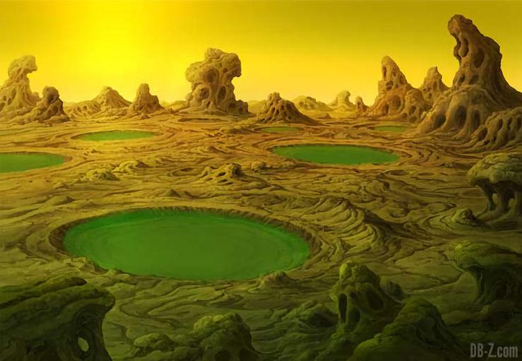 Planete Vampa - Film Dragon Ball Super Broly