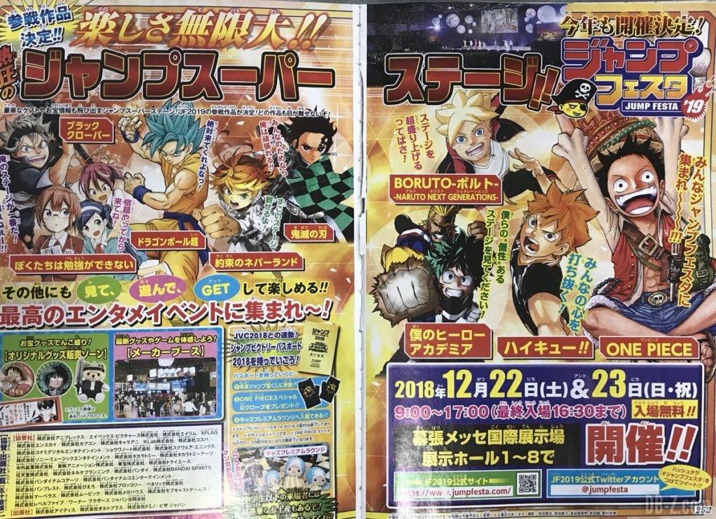 Promo Jump Festa 2019