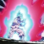Super Dragon Ball Heroes Episode 4 - 00027 Super Saiyan Blue Goku SSGSS Kaioken