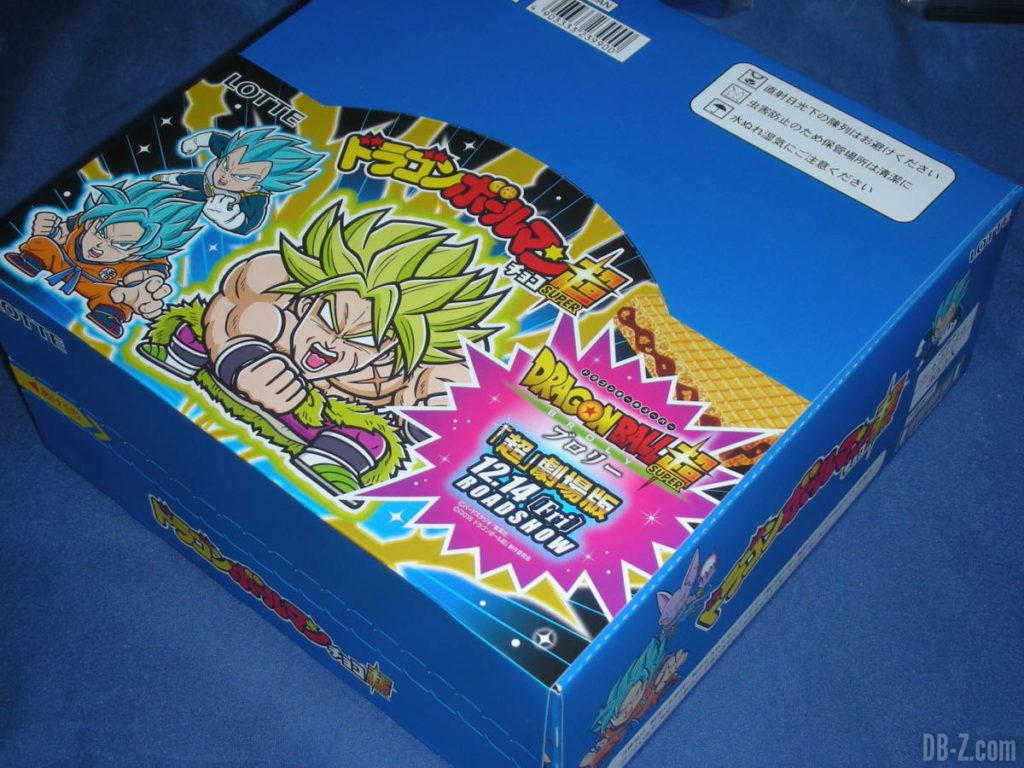 Box Dragon Ball Man Choco Super