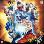 Calendrier Dragon Ball Super 2019 de Kazé - Cover avant