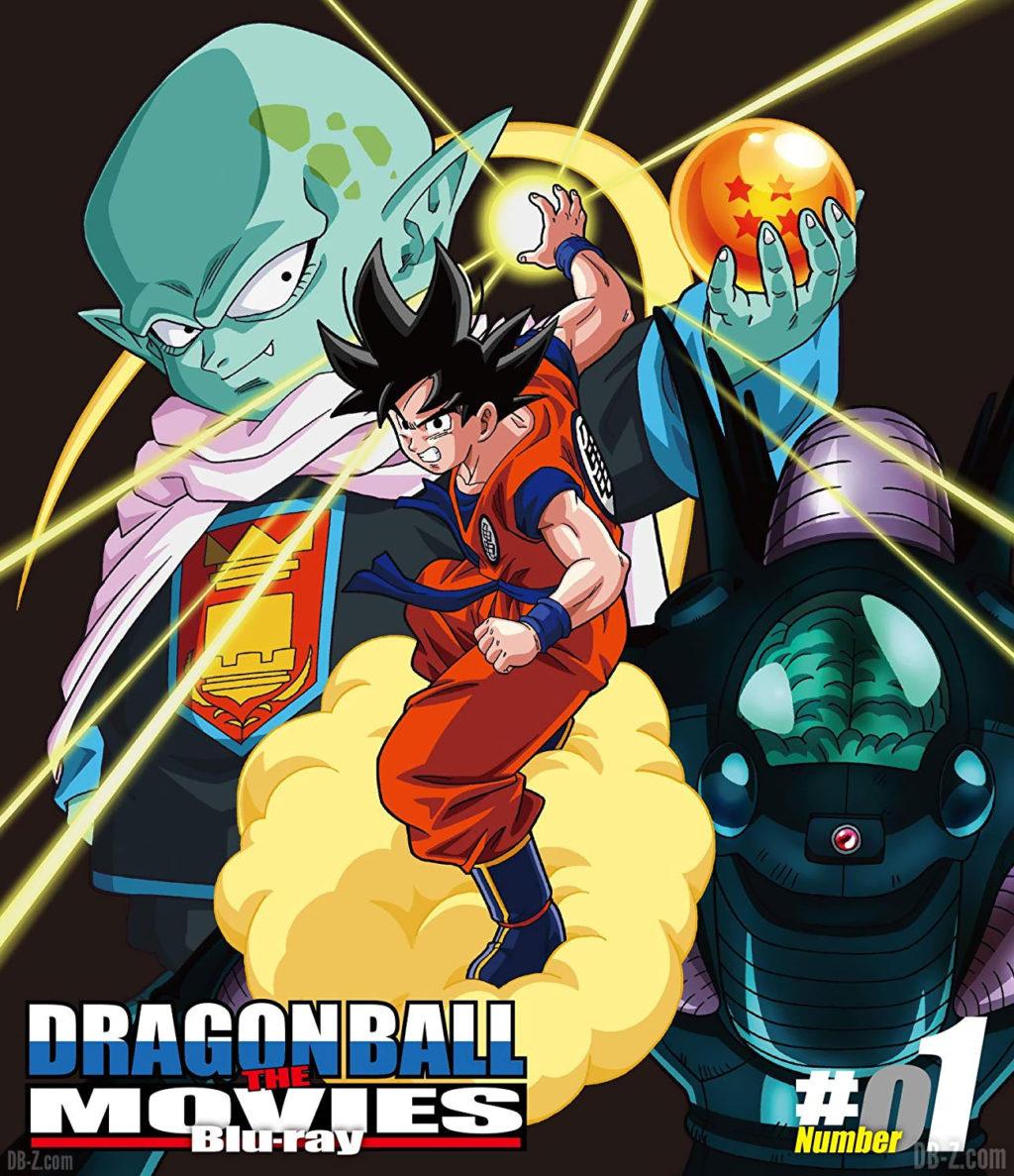 DRAGON BALL THE MOVIES Blu-ray 01