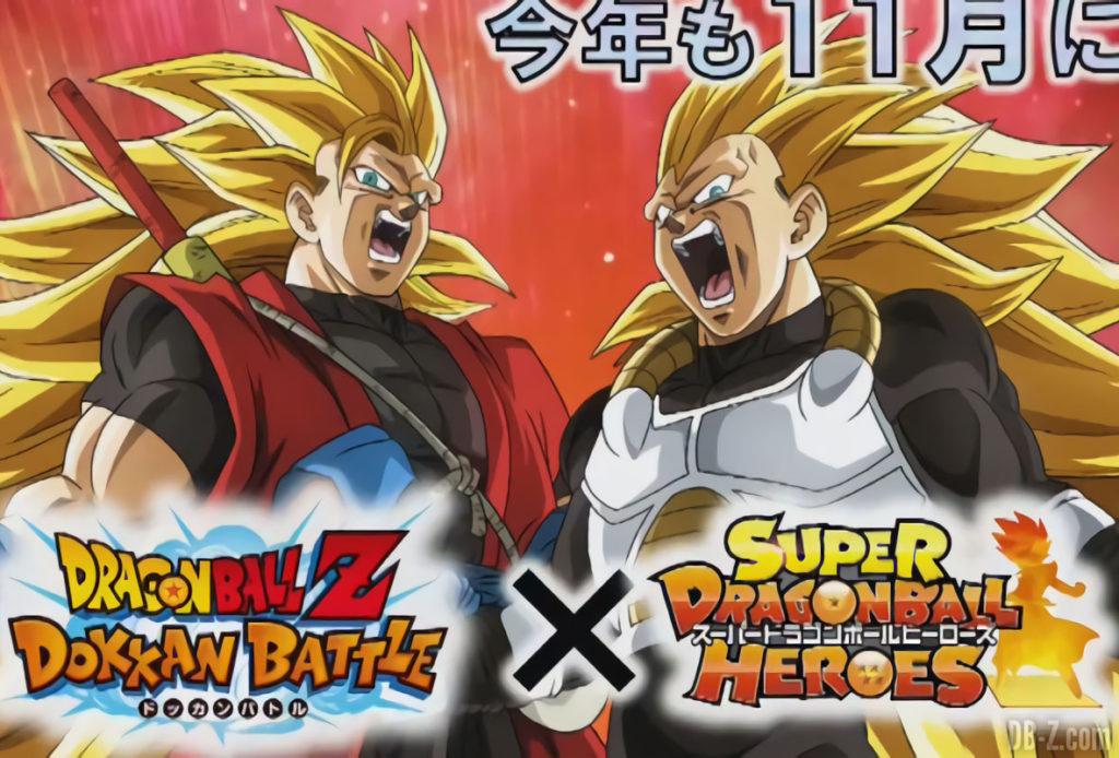 Dokkan Battle - Goku Xeno et Vegeta Xeno Super Saiyan 3