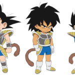 Goku, Broly, et Vegeta enfants