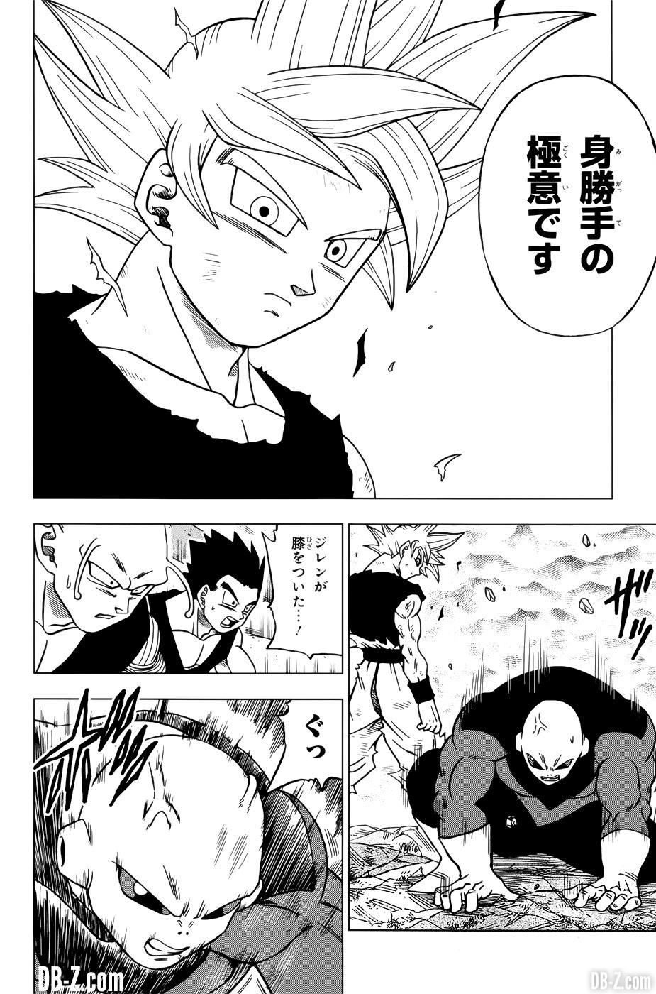 Goku Ultra Instinct de Toyotaro