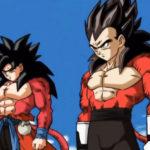 Goku et Vegeta Super Saiyan 4 (Super Dragon Ball Heroes Episode 5)