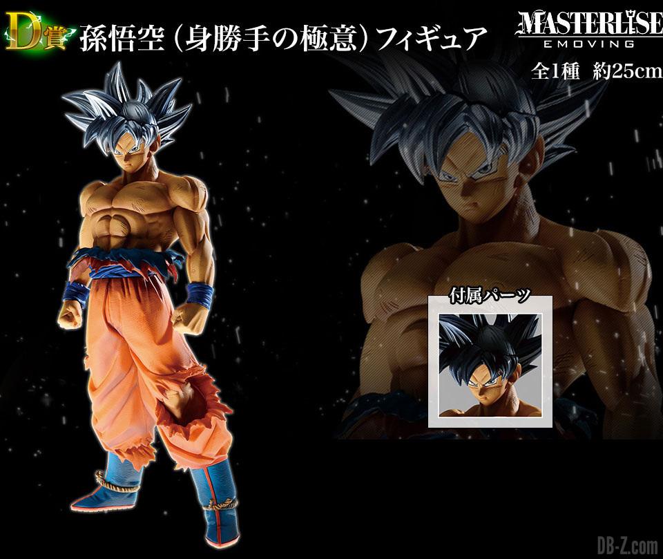 MASTERLISE EMOVING Son Goku Ultra Instinct