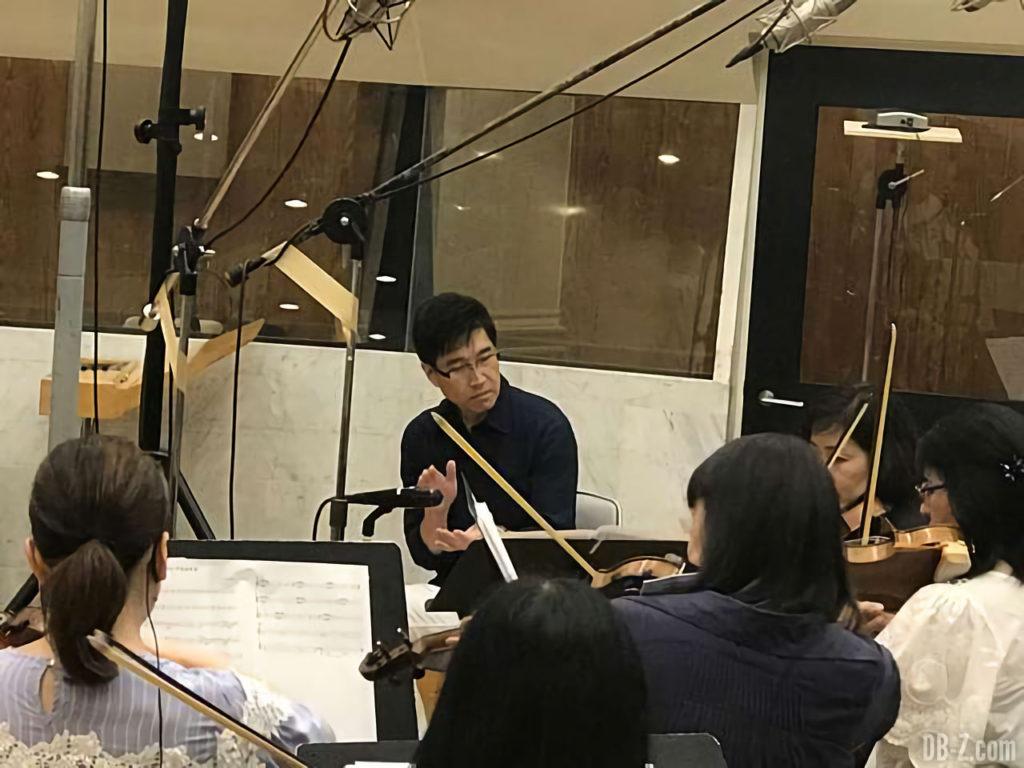 Norihito Sumitomo enregistre l'OST du film DBS Broly