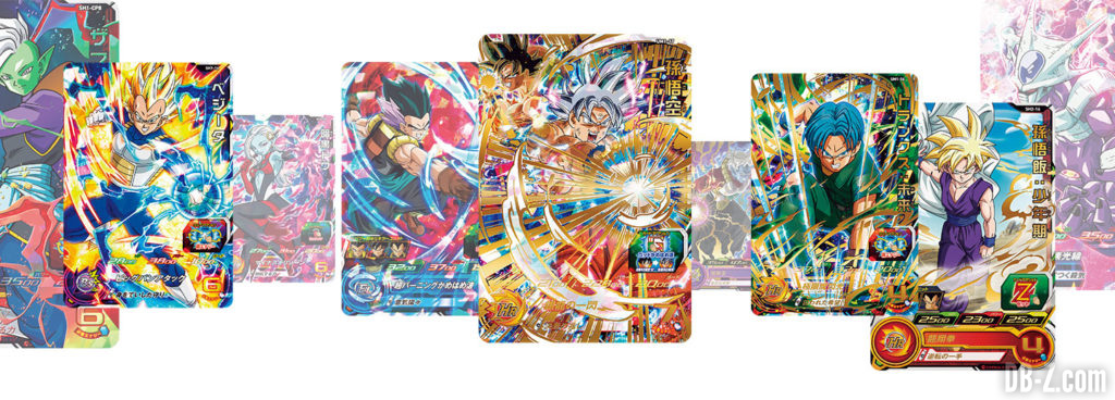 Super Dragon Ball Heroes World Mission - 1160 cartes