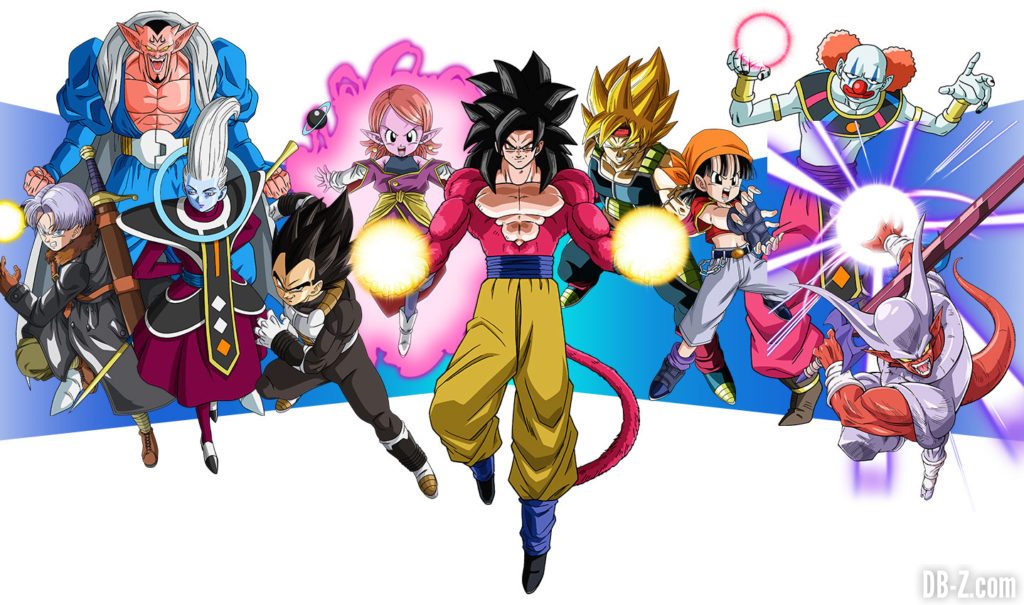 Super Dragon Ball Heroes World Mission - Bons vs Mechants