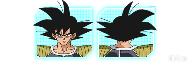 Charadesign de Bardock du film Dragon Ball Super Broly