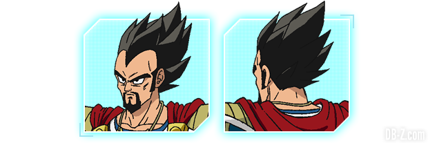 Charadesign du Roi Vegeta du film Dragon Ball Super Broly