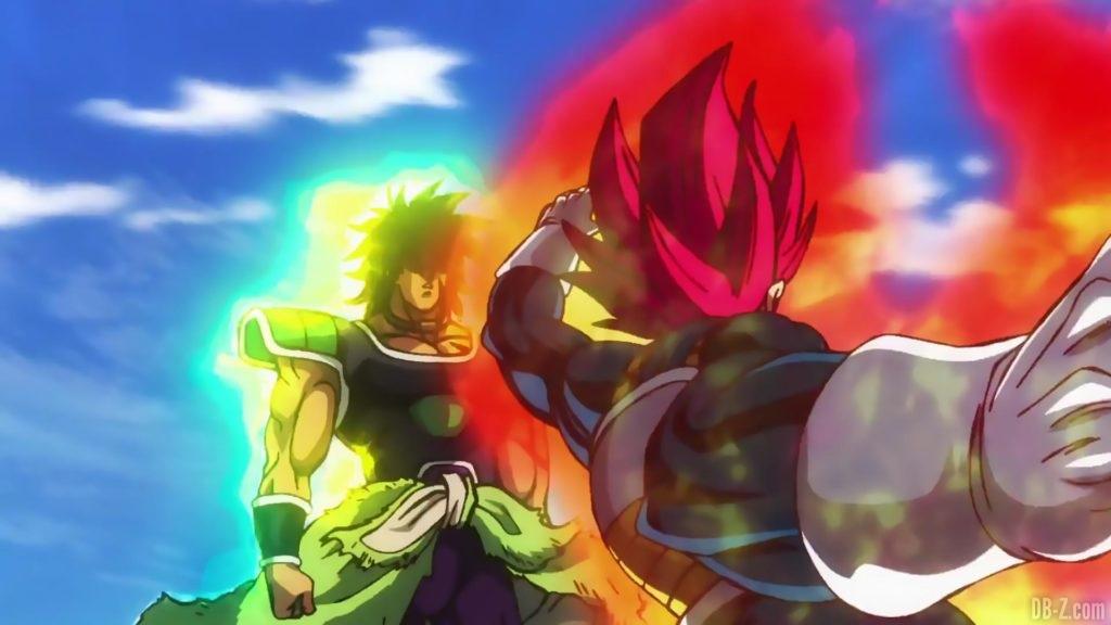 Vegeta Super Saiyan God vs Broly