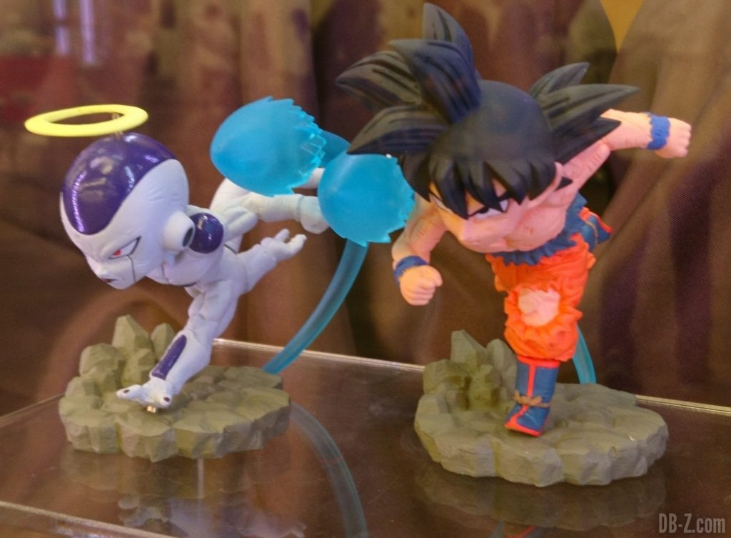 Dragon Ball Super - World Collectable Diorama Vol.3 Goku & Freezer (Banpresto) (Juin 2019)