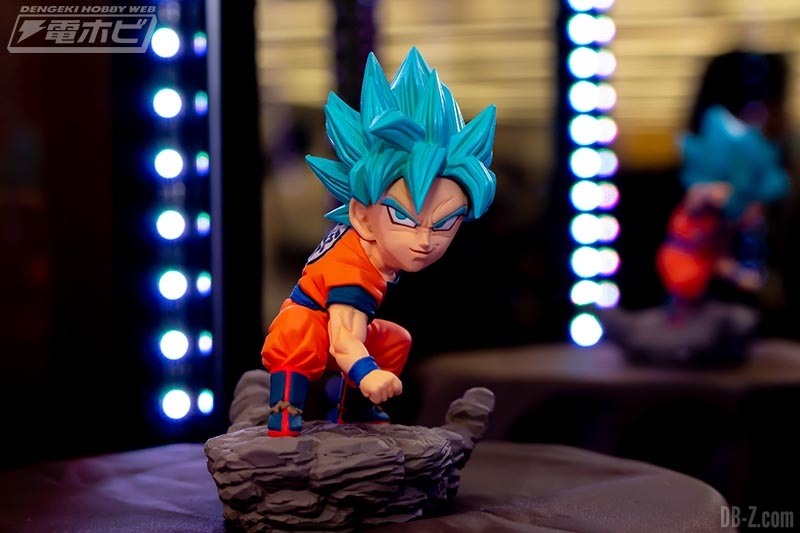 Dragon Ball Super - World Collectable Diorama Vol.3 Goku SSGSS (Juin 2019)