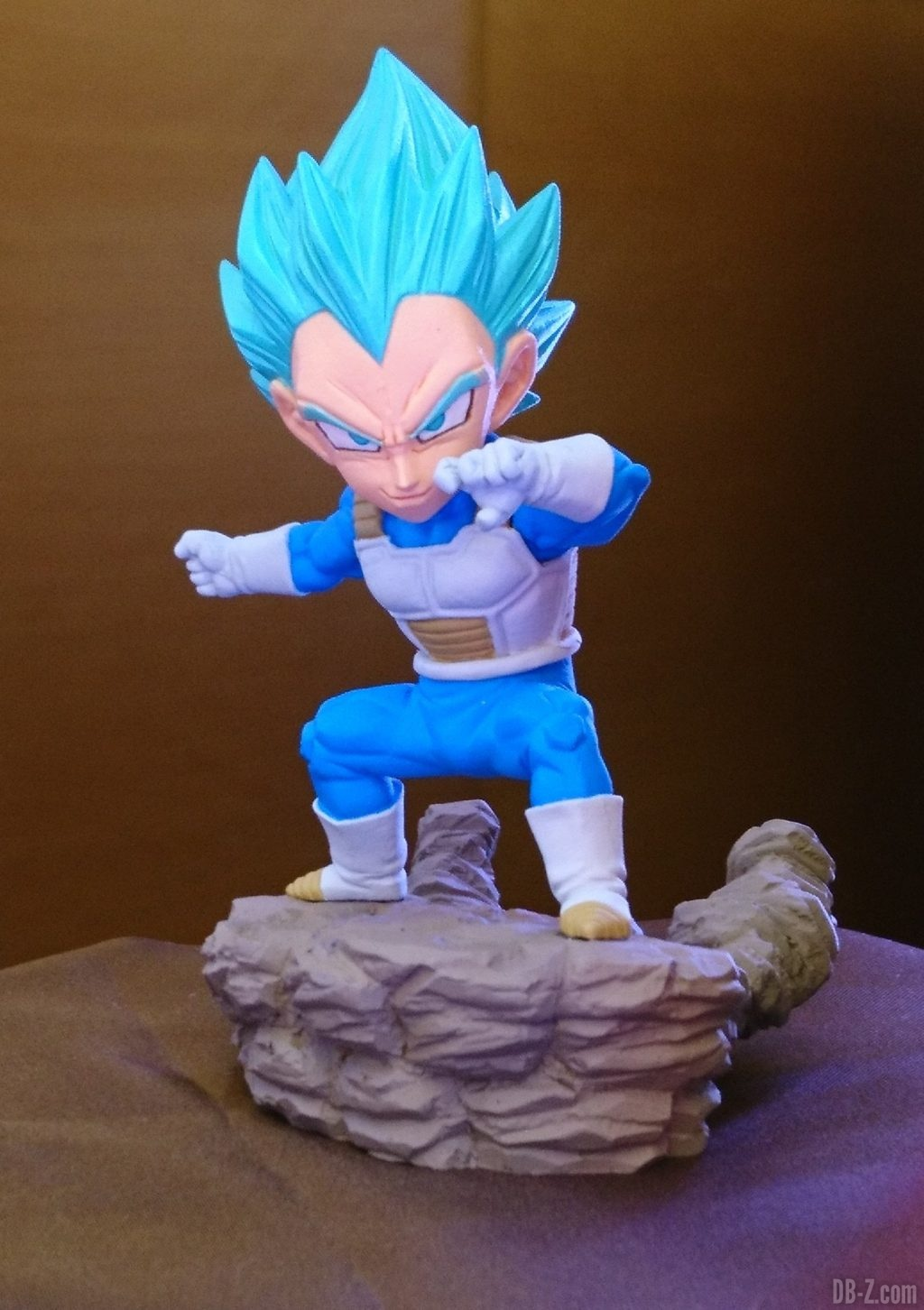 Dragon Ball Super - World Collectable Diorama Vol.3 Vegeta SSGSS (Banpresto) (Juin 2019)
