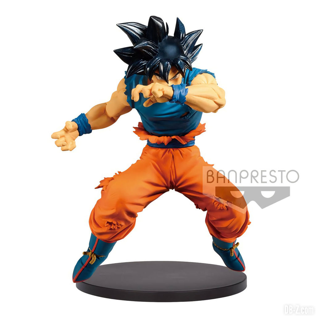 Figurine Son Goku Ultra Instinct - Blood Of Saiyans - Special II