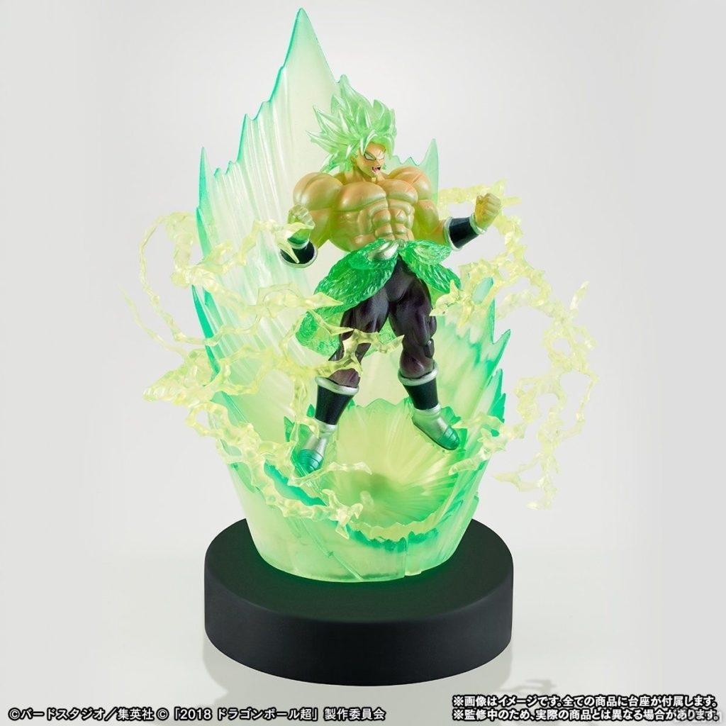 Figurine HG Film Dragon Ball Super - Socle lumineux
