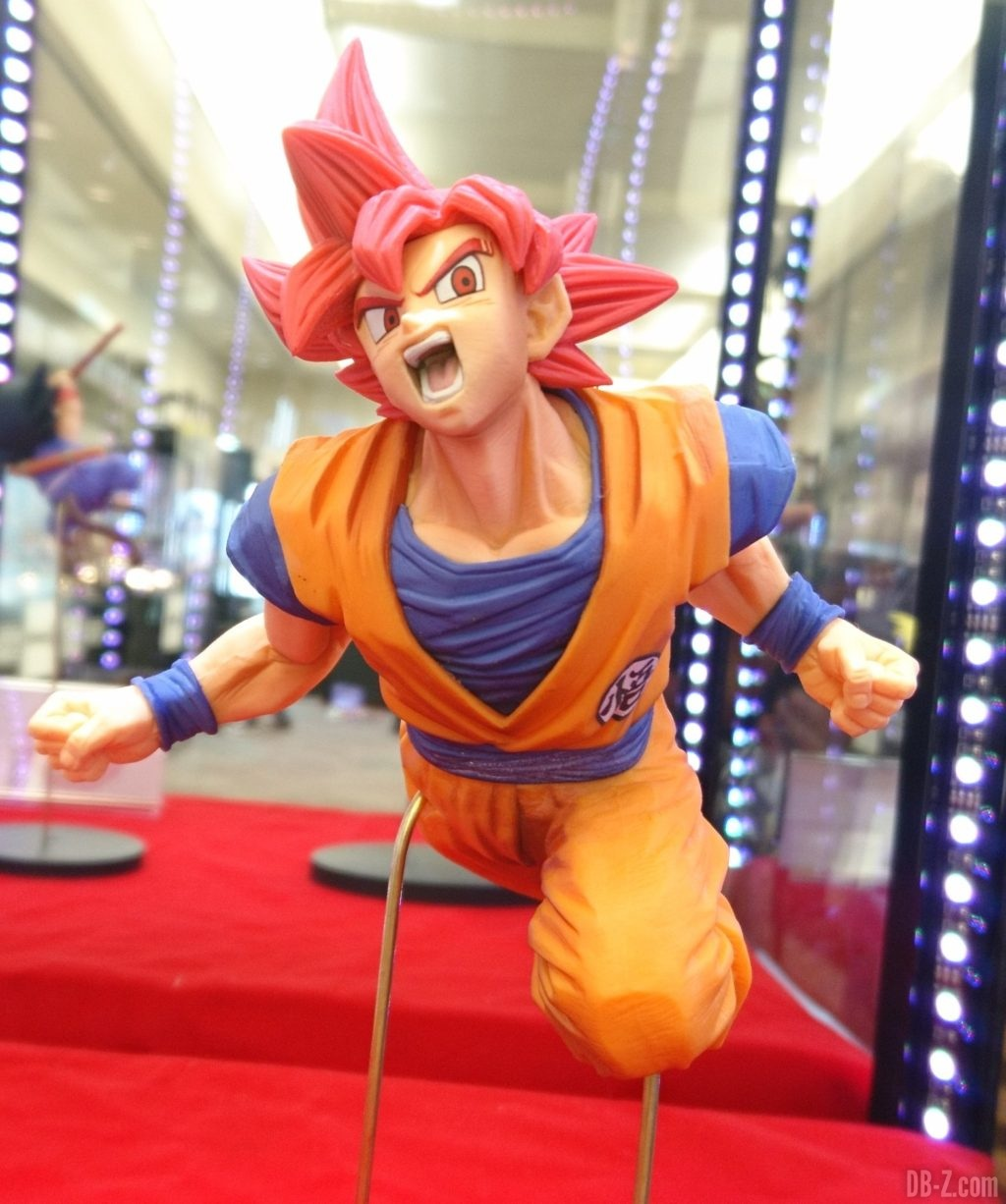 Figurine Son Goku FES Goku Super Saiyan God