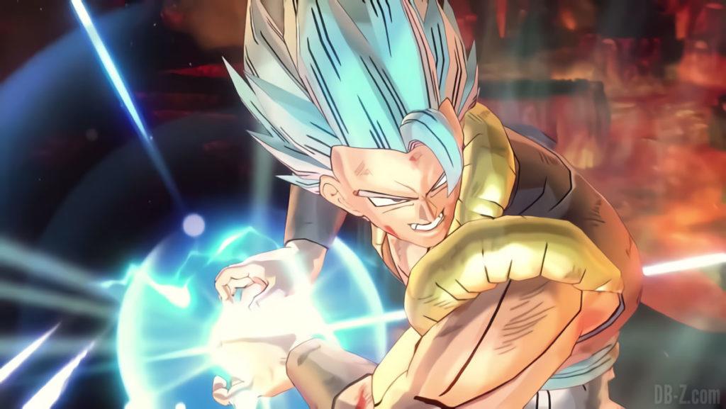 Gogeta Blue dans Dragon Ball Xenoverse 2