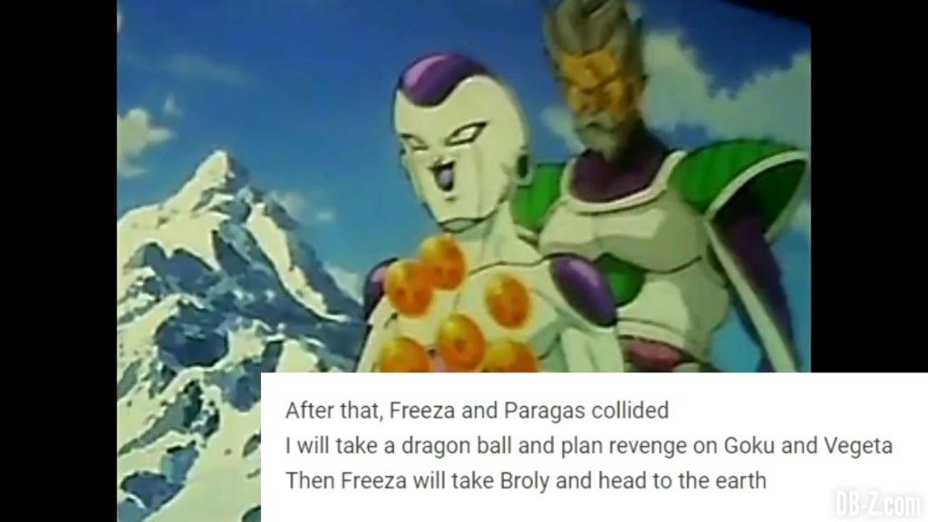 Freezer a les Dragon Balls