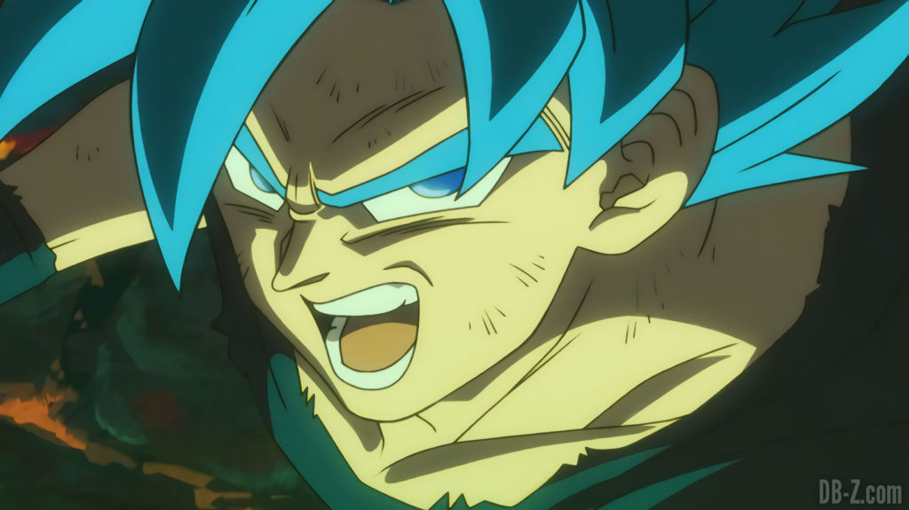 Goku Super Saiyan Blue vs Broly
