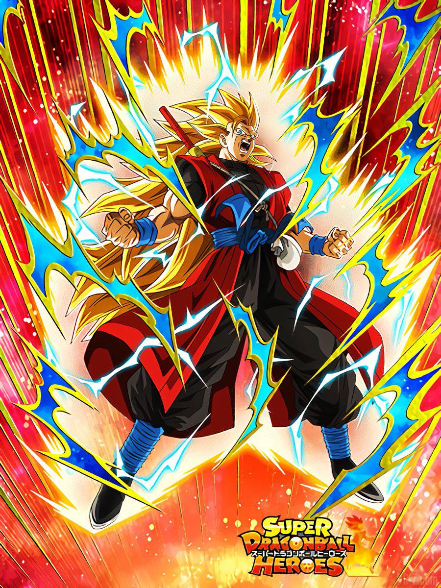 Goku Xeno Super Saiyan 3 Dokkan Battle x Super Dragon Ball Heroes 2018 00002