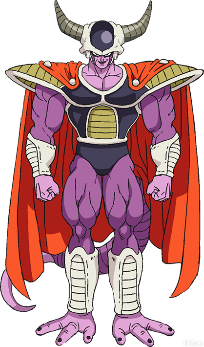 El rey frío de la película Dragon Ball Super Broly