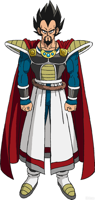 Rey Vegeta de la película Dragon Ball Super Broly