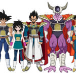 Lise des personnages MAJ du Film Dragon Ball Super Broly