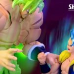 SHFiguarts Broly Fullpower vs Gogeta Blue Film Dragon Ball Super (00001)