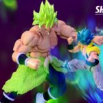 SHFiguarts Broly Fullpower vs Gogeta Blue Film Dragon Ball Super (00005)