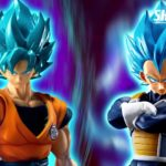 SHFiguarts Goku et Vegeta SSGSS du film Dragon Ball Super 0000