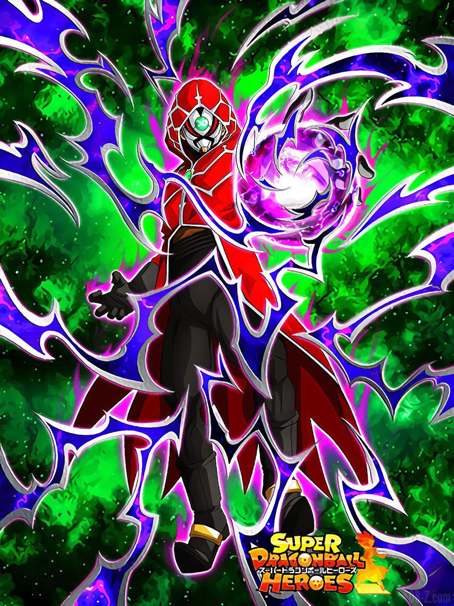 Saiyan masqué Dokkan Battle x Super Dragon Ball Heroes 2018 00007