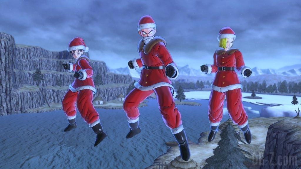 Costume de Noël (Dragon Ball Xenoverse 2)