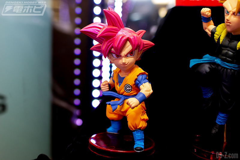 Super Dragon Ball Heroes - World Collectable Figure WCF Vol.6 Goku Super Saiyan God (Banpresto) (Mai 2019)