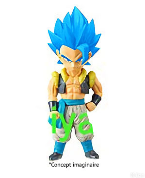 WCF Gogeta Super Saiyan Blue