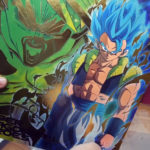 Classeur Super Dragon Ball Heroes 8th Anniversary Gogeta Blue Broly