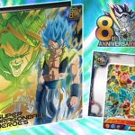 Classeur Super Dragon Ball Heroes Film Broly Gogeta 9 pockets