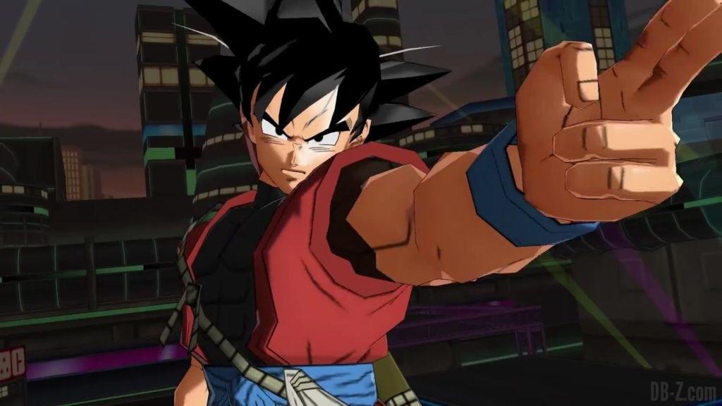 SDBH World Mission - Goku Xeno