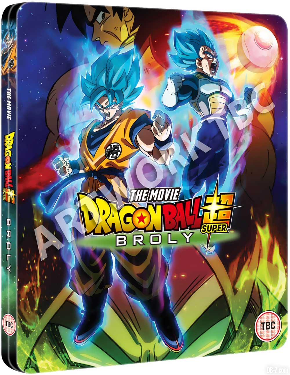 Dragon Ball Super Broly Blu-Ray Steelbook