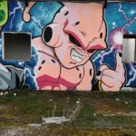 Street Art Dragon Ball au Portugal