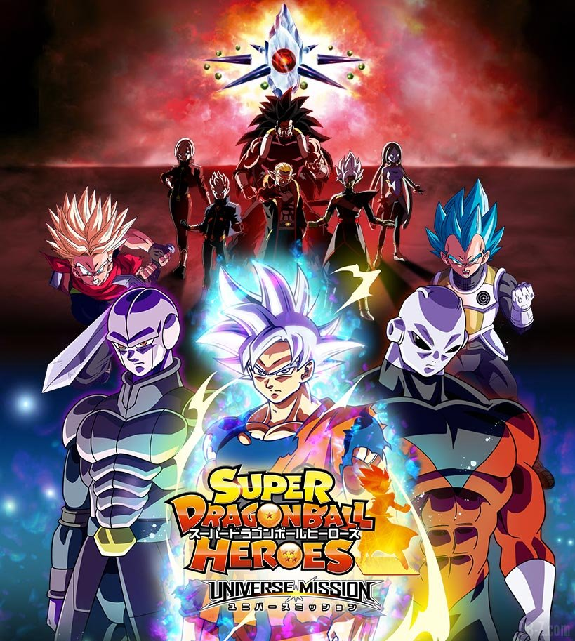 Super Dragon Ball Heroes Arc Conflit Universel Debut de la Guerre