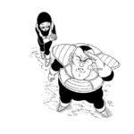 Toyotaro dessine Onio et sa femme