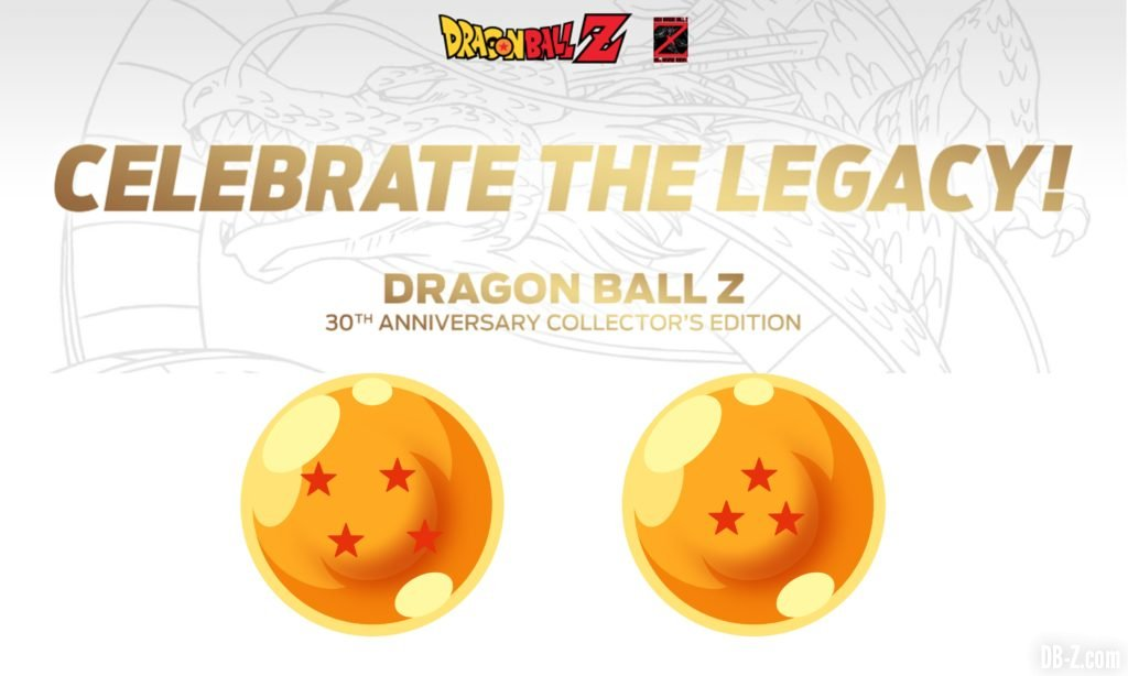 Blu-Ray Dragon Ball Z 30 ans
